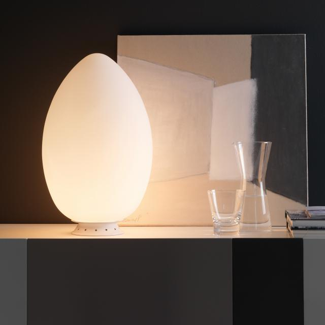 FontanaArte Uovo table lamp with dimmer
