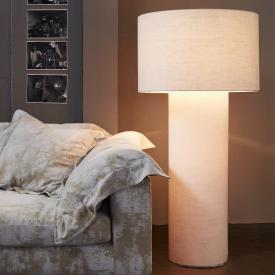 Diesel Pipe media floor lamp with dimmer