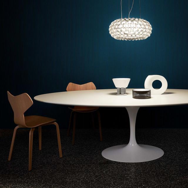 FOSCARINI Caboche Plus media LED pendant light with dimmer