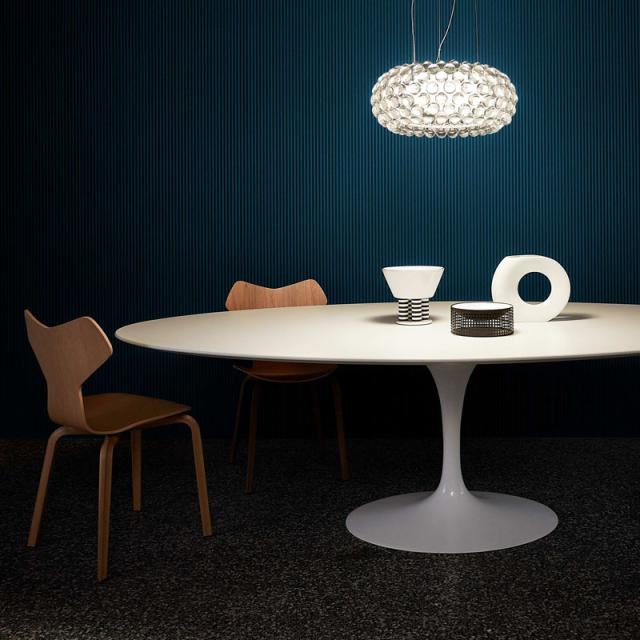 FOSCARINI Caboche Plus media MyLight Tunable White LED pendant light with dimmer