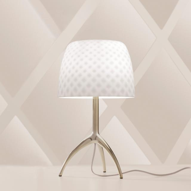 FOSCARINI Lumiere 05 piccola table lamp with dimmer, special edition