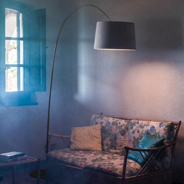 FOSCARINI Twiggy Wood MyLight LED floor lamp with dimmer