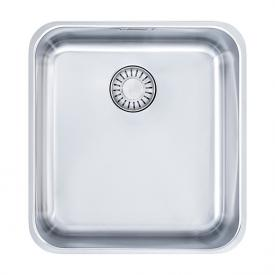 Franke Epos EOX 110-36 undermount sink with plug valve