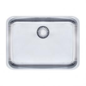 Franke Epos EOX 110-50/35 undermount sink with plug valve