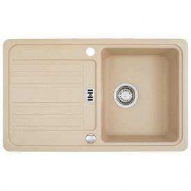 Franke Euroform EFG 614-78 sink with remote waste valve beige