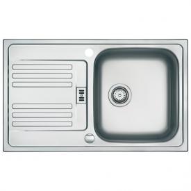 Franke Euroform EF 614-78 reversible sink silk matt stainless steel/linen