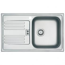 Franke Euroform EF 614-78 reversible sink polished stainless steel