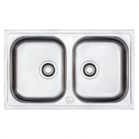Franke Euroform EFX 620-78 reversible sink with double bowl