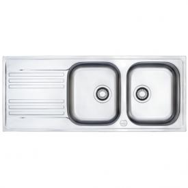 Franke Euroform EFX 621 reversible sink with double bowl