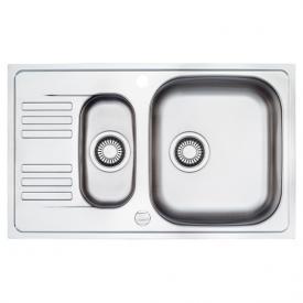 Franke Euroform EFX 651-78 reversible sink with half bowl