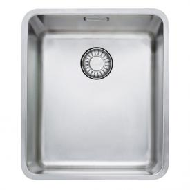 Franke Kubus KBX 110-34 undermount sink with pull-button for waste valve