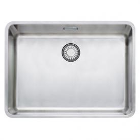 Franke Kubus KBX 110-55 undermount sink with pull-button for waste valve