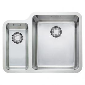 Franke Kubus KBX 160 undermount sink with pull button for waste valve