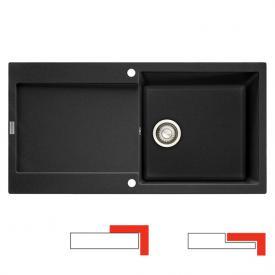 Franke Maris MRG 611-100 reversible sink graphite