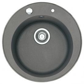 Franke Pamira ROG 610-41 round kitchen sink stone grey