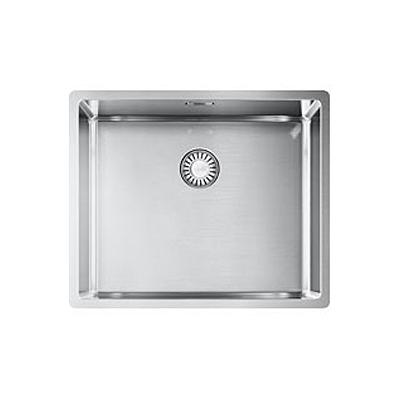 """Franke Box BXX 210 / 110-50 kitchen sink, with push-button for waste valve 3/12"""""""