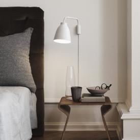 Fritz Hansen Caravaggio Read wall light with on/off switch