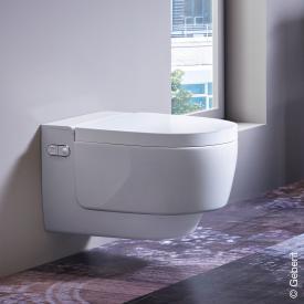 Geberit AquaClean Mera Classic complete shower toilet set white