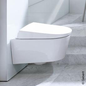 Geberit AquaClean Sela shower toilet complete, wall-mounted, with anal shower
