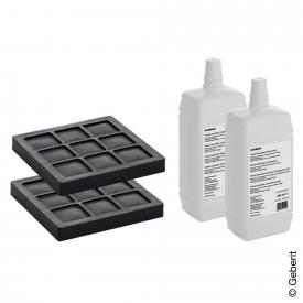 Geberit AquaClean Set 2 charcoal filters and 2 nozzle cleaners NEW for AquaClean 8000plus and Balena 8000