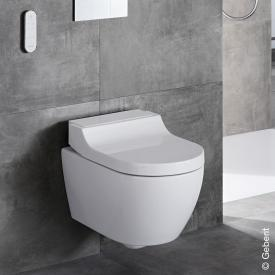 Geberit AquaClean Tuma Comfort complete shower toilet set white