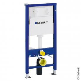 Geberit Duofix Basic mounting element H: 112 cm, for wall-mounted toilet, 112 cm, with Delta UP100 concealed cistern