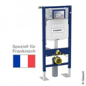 Geberit Duofix frame for wall-mounted toilet , H: 112 cm, concealed cistern UP 320, for France