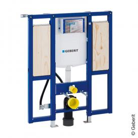 Geberit Duofix frame for wall-mounted toilet, H: 112 cm, for grab rail, w. concealed cistern UP320, barrier-ree