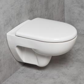 Geberit Renova & Tellkamp Premium 3000 wall-mounted toilet set: rimless toilet, with KeraTect, toilet seat with soft-close