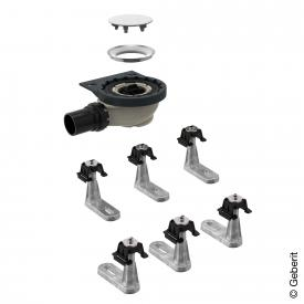 Geberit Setaplano installation set with 6 feet, water seal 50 mm