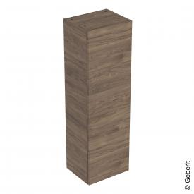 Geberit Smyle Square medium unit with 1 door walnut