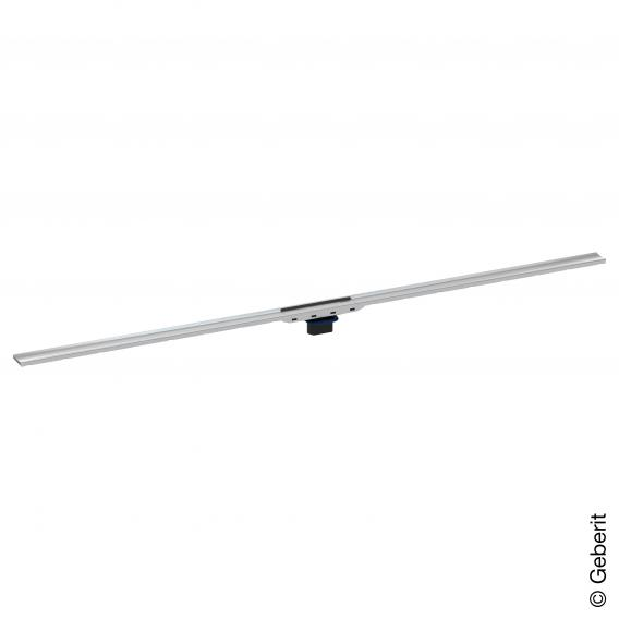 Geberit CleanLine 80 shower channel brushed stainless steel, for shower channel: 30 - 130 cm