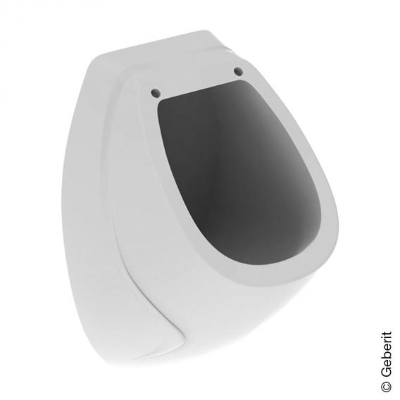 Geberit Corso urinal white, with KeraTect