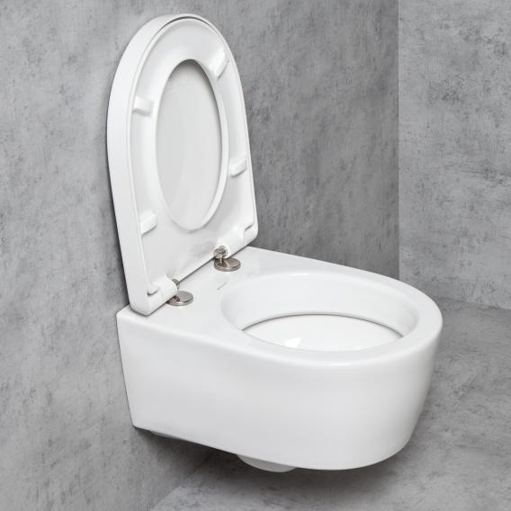 Geberit Icon Tellkamp Premium 1000 Short Wall Mounted Toilet Set Toilet With Flush Rim Toilet Seat With Soft Close 204030000 Tk1100 Reuter
