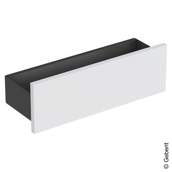 Geberit Smyle Square wall-mounted shelf white high gloss