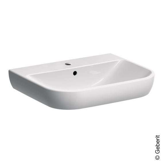 Geberit Smyle washbasin white, with KeraTect