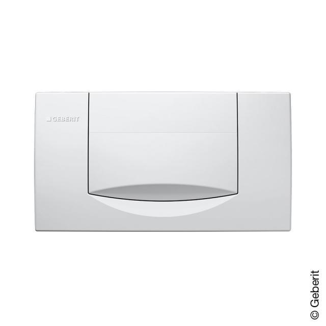 Geberit 200F flush plate for start/stop mechanism white