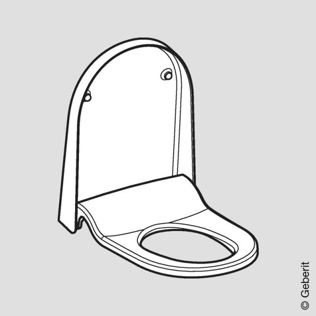 Geberit AquaClean Sela toilet seat and lid, year of production 2013 - 03/2019