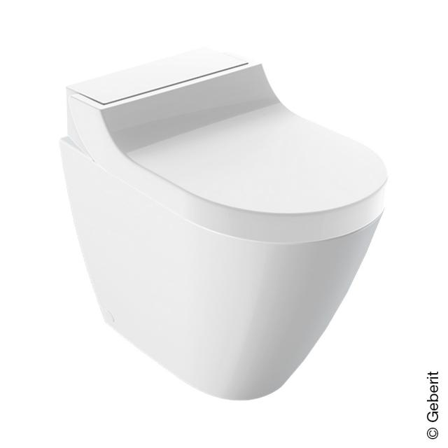 Geberit AquaClean Tuma Comfort complete floor-standing, shower toilet with toilet seat white