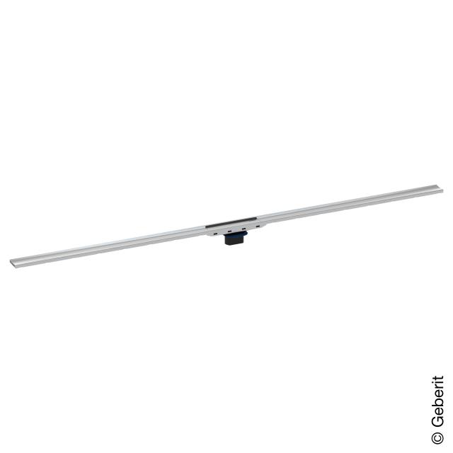 Geberit CleanLine 80 shower channel brushed stainless steel, for shower channel: 30 - 90 cm