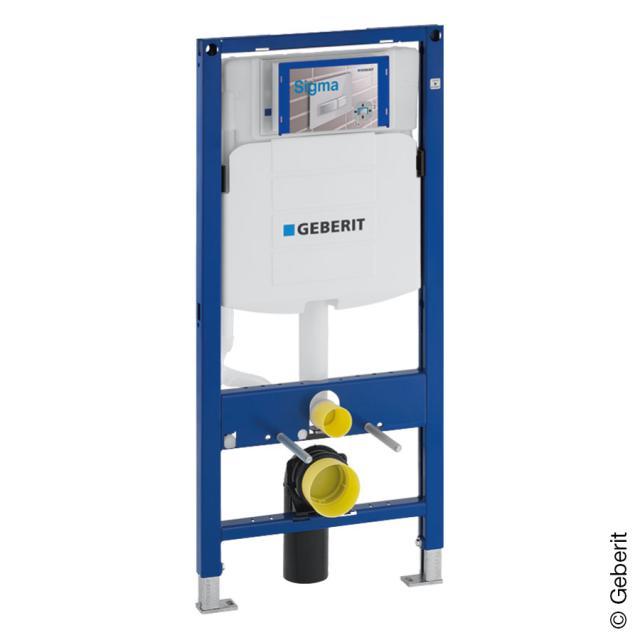 Geberit DuoFix Bâti-support pour WC suspendu, H : 112 cm, avec un réservoir encastré UP320