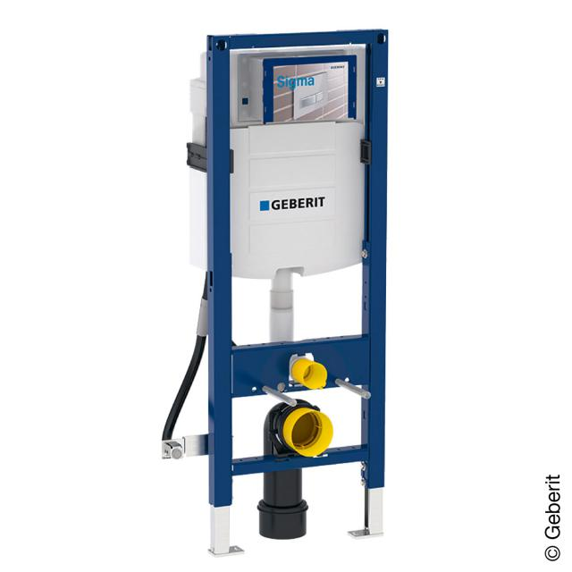 Geberit Duofix frame for wall-mounted toilet, H: 112 cm, with UP320 concealed cistern, barrier-free