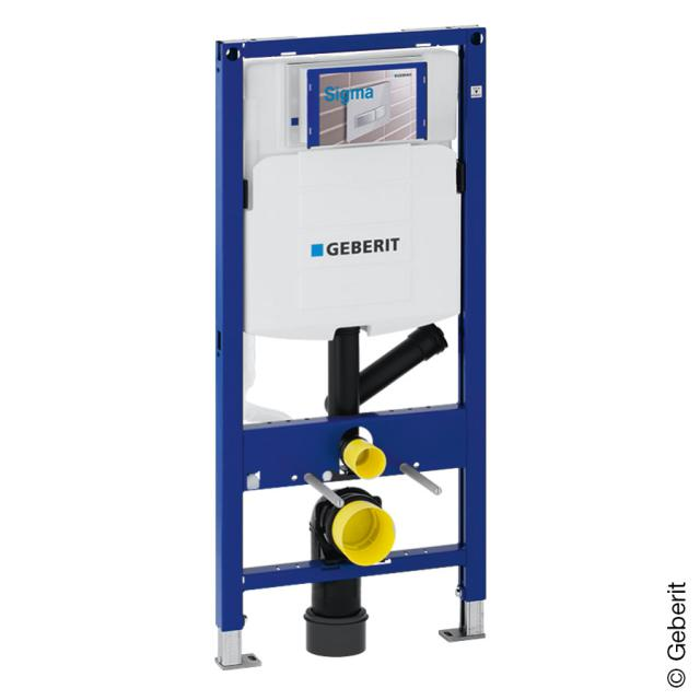 Geberit Duofix frame for wall-mounted toilet, for odour extraction, H: 112 cm, w. concealed cistern UP320