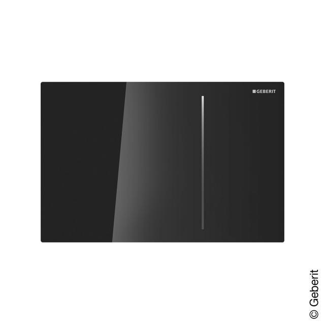 Geberit front plate for Sigma70 flush plate black