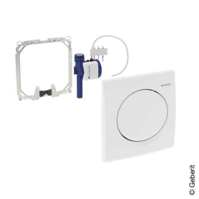 Geberit HyBasic urinal control, pneumatic white