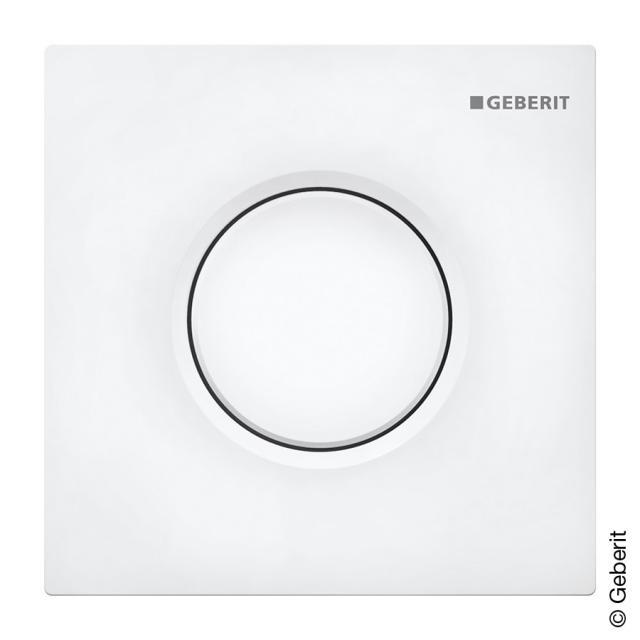 Geberit Sigma01 urinal - hand activator pneumatic white