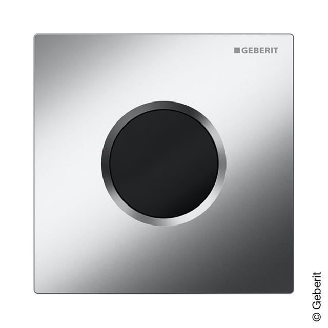 Geberit infrared urinal control Samba IR chrome silk gloss