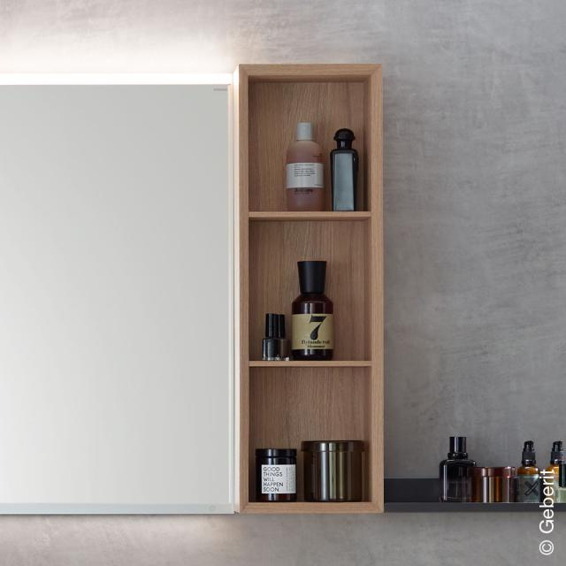 Geberit iCon rack with 3 compartments natural oak