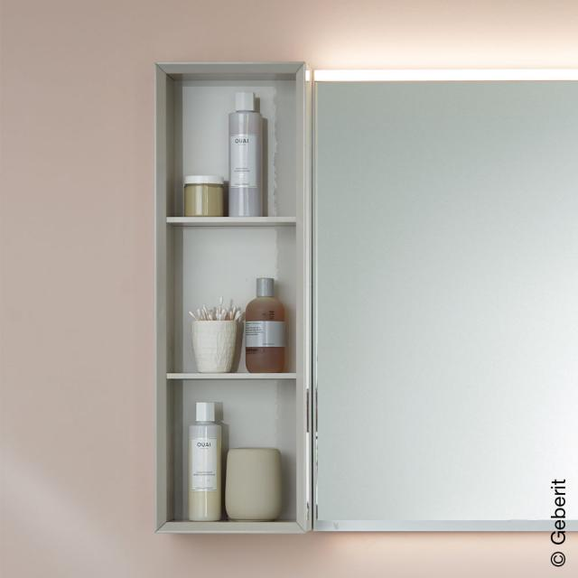 Geberit iCon rack with 3 compartments white high gloss