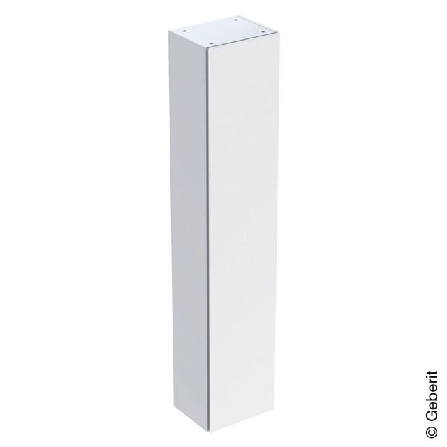 Geberit iCon tall unit with 1 door front white high gloss / corpus white high gloss